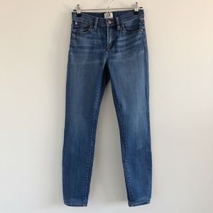 J. Crew Lookout High Rise Skinny Jeans Chandler 26